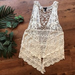 FANG Crochet Top